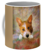 Hankie A Corgi And Westi Mix Cute Dog Coffee Mug