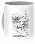 Hansel And Gretel Approach A Witch's Gingerbread Coffee Mug