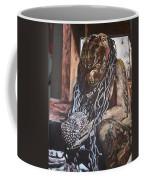 Hanuman In Chains Coffee Mug