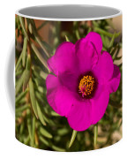 Happily Vibrantly Pink With A Golden Yellow Center Coffee Mug