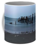 Happisburgh Beach Groynes Coffee Mug