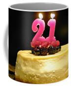 Happy 21st Birthday Coffee Mug