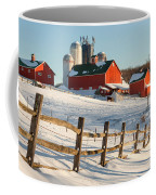 Happy Acres Farm Coffee Mug by Bill Wakeley