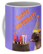Happy Birthday Card Coffee Mug by Edward Fielding