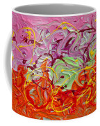 Happy Birthday Coffee Mug by Donna Blackhall