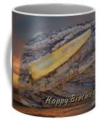 Happy Birthday Greeting Card - Vintage Atom Saltwater Fishing Lure Coffee Mug