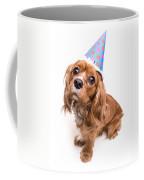 Happy Birthday Puppy Coffee Mug by Edward Fielding