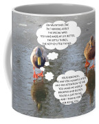 Happy Ducky Valentine Coffee Mug