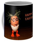 Happy Easter Greeting Card. Funny Eggmen Series Coffee Mug