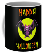 Happy Halloween Bat Coffee Mug