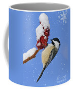 Happy Holidays... Coffee Mug by Nina Stavlund