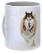 Happy Husky Coffee Mug