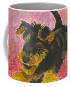 Happy Coffee Mug by Jeanne Fischer