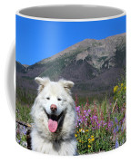 Happy Mountain Dog Coffee Mug
