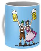 Happy Oktoberfest Couple Beer Coffee Mug