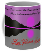 Happy Valentine's Day Coffee Mug by George Pedro