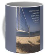 Happy Volleyball Goal Coffee Mug