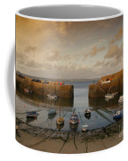 Harbor At Dusk Coffee Mug by Pixel Chimp