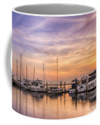 Harbor At Jekyll Island Coffee Mug