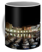 Harbor At Night Coffee Mug