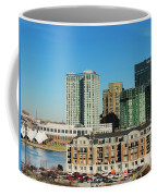 Harbor East Complex In Baltimore From Federal Hill Coffee Mug