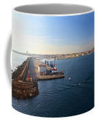 harbor in Porto Torres Coffee Mug