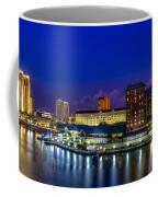 Harbor Island Nightlights Coffee Mug by Marvin Spates