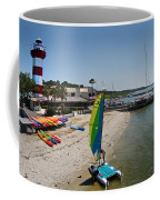 Harbor Town Beach 2 In Hilton Head Coffee Mug