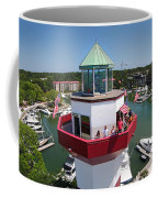 Harbor Town Lighthouse In Hilton Head Coffee Mug