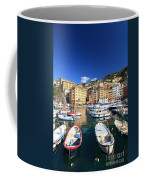 Harbor With Fishing Boats Coffee Mug