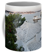 Port Mahon View With A Villa Called Venecia - Harbour Of My Dreams Coffee Mug