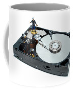 Hard Drive Firewall Coffee Mug