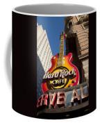 Hard Rock Cafe Guitar Sign In Philadelphia Coffee Mug