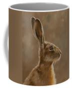 Hare Portrait I Coffee Mug