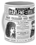 Harlene For The Hair, 1897 Coffee Mug