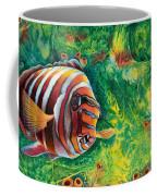 Harlequin Tuskfish Coffee Mug