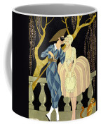 Harlequin's Kiss Coffee Mug by Georges Barbier