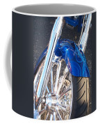 Harley Close-up Blue Flame  Coffee Mug