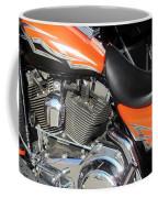 Harley Close-up Orange 1 Coffee Mug