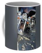 Harley Close-up W Shadow 1 Coffee Mug