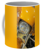 Harley Close-up Yellow 2 Coffee Mug