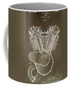Harley Davidson Engine Coffee Mug by Dan Sproul