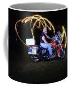 Harley Davidson Light Painting Coffee Mug
