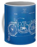 Harley-davidson Motorcycle 1919 Patent Artwork Coffee Mug by Nikki Marie Smith