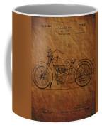 Harley Davidson Patent  Coffee Mug