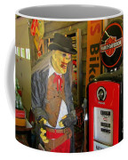 Harley Davidson Vintage Gas Pump Coffee Mug