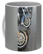 Harley Line Up Rain Coffee Mug