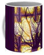 Harmonious Colors - Violet Yellow Orange Coffee Mug