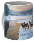 Harmony As The Sun Sets Coffee Mug