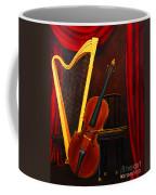 Harp And Cello Coffee Mug